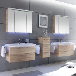 badezimmerprogramm mit zwei waschbecken