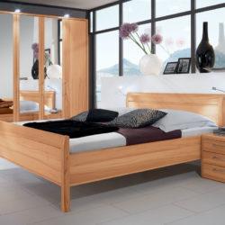 schlafzimmer komplett mit holz