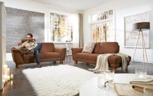 2-sitzer und chaiselongue