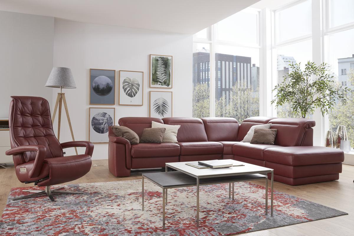Interliving Sofa und Sessel bei Möbel Janz in Schönkirchen bei Kiel