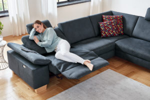 Sofa mit Relaxfunktion Modulmaster