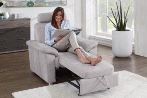 Sessel mit Ausziehfunktion Modulmaster