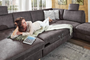 Sofa mit Schlaffunktion Modulmaster